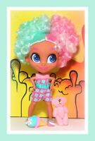 ❤️Hairdorables Series 1 Surprise Dee Dee Dorable Doll Pink Blue Big Hair❤️