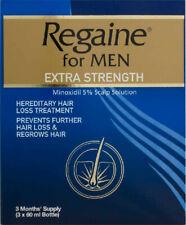 Regaine For Men Extra Strength Hair Loss 180ML 3 Months