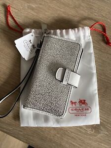 Coach Iphone 4 Leather Case Bnwt