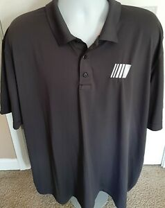 3XL NASCAR Official Employee Issued 5.11 gray Polo Shirt Cup Xfinity Truck ARCA
