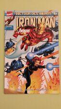 comics iron man le retour des héros n°6