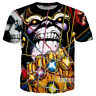 Women/Men Thanos Infinity Gauntlet 3D Print Casual T-Shirts Tee Short Sleeve T75