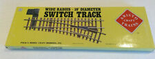 (no track, just box) ART 30370: Aristo-Craft Wide Radius Manual Switch Empty Box