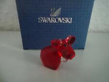 Swarovski figura lovlots mini mo en rojo, personaje de vidrio