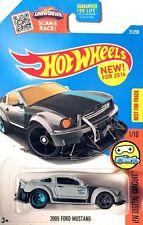 Hot Wheels 2016 - 2005 Ford Mustang (Gray) K Case #21