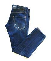 DSQUARED pantaloni jeans da uomo S74LB0505 REGULAR CLEMENT JEAN taglia 52