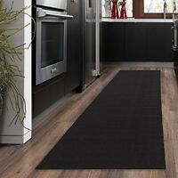 Ottomanson Ottohome Collection Solid Design Hallway Kitchen Runner Rug