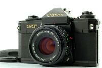 [Exc+4] Canon EF 35mm SLR Film Camera w/ FD 50mm F/2.0 From JAPAN #351