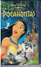 POCAHONTAS -   VHS --  I CLASSICI   WALT DISNEY - NUOVA SIGILLATA