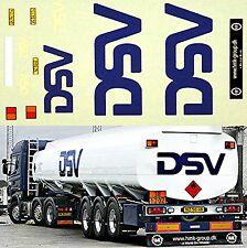 MAN - DSV Spedition (DK) Tank trailer 1:87 Decal Abziehbild
