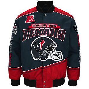 Houston Texans NFL Enforcer Jacket - Size Adult Small Free Ship
