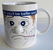 Ganz ~ Get Well ~ I Nose You'll Be Better Soon ~ Coffee Cup Mug ~ Thermometer