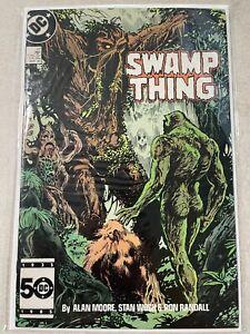 Swamp Thing #47 Alan Moore Dc Comics