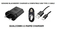 Genuine BlackBerry Rc-1500 UK Mains Qualcomm 2.0 Rapid Quick Charger for KEYONE