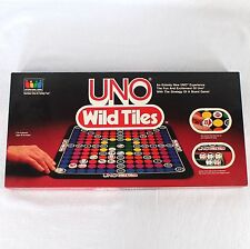Uno Wild Tiles Board Game Vintage 1983 International Games Complete