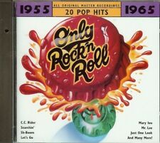 ONLY ROCK 'N ROLL - 1955-1965 - 20 Pop Hits - ALL ORIGINAL RECORDINGS - CD - NEW