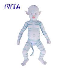 IVITA  20'' Avatar Silicone Doll Eyes Closed