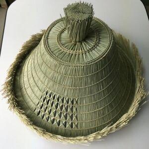 Japanese Samurai Hat Roningasa Edo Style Hand Made New