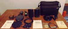 SONY portable CD player & Koss speakers with travel case and more