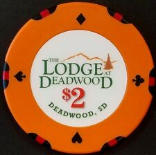 The Lodge at Deadwood $2.00 Casino Chip, Deadwood, SD!