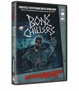 AtmosFearFX Bone Chillers Halloween Digital Decoration DVD