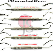 Dental Oral Surgery Implant Sinus Lift Elevators Mushroom Graft Membrane Kit