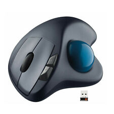LOGITECH M570 WIRELESS TRACKBALL LASER TRACK CORDLESS MOUSE MAC / WINDOWS Kj