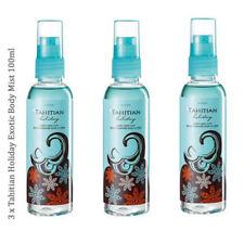 3 x Avon Tahitian Holiday Exotic Body Mist // Fragrance Body Spray 100ml