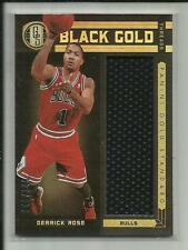 DERRICK ROSE 2011-12 PANINI GOLD STANDARD BLACK GOLD JERSEY /149