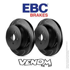 EBC BSD Trasero Discos De Freno 286 MM para VW Scirocco Mk3 1.4 Turbo 122bhp 08-BSD1410