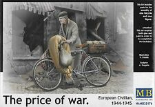 "1/35 Master Box 35176  ""The Price of War"" European Civilian 1944-1945 with Bike"