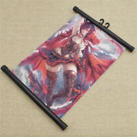 Japanese Anime Rwby Poster Wall Home Hanging Decoration Scroll Painting Supplies
