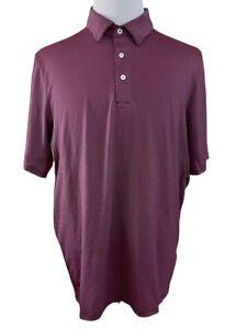 Men's KJUS Soren Stripe Golf Short Sleeve UPF 50+ Wicking Polo Shirt size 54/XL