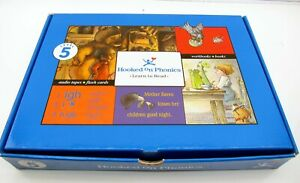 New Hooked on Phonics Learn to Read Level 5 w/ Audio Tapes, Books, Flash Cards +