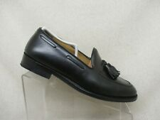 Cole Haan Black Leather Tassel Loafers Dress Shoes Boots Mens Size 9 D - 06038
