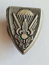 FRANCE FRENCH FOREIGN LEGION 1 REP AIRBORNE PARACHUTE LAPEL BADGE 1948/54