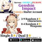 [America/NA/Europe/EU/Asia/AS] Genshin Impact Yoimiya Starter Account