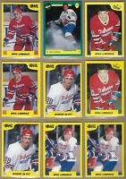 1989-90 ERIC LINDROS 7th Inning Sketch Rookie 9 Card Lot & 91 Classic Promo Card
