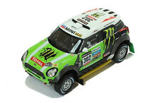 Mini All 4 Racing #302 Peterhansel Winner Dakar 2013 1:43 Ixo RAM574