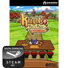 Knights of pen & et papier édition +1 pc, mac et linux clé steam