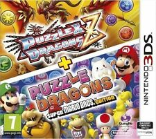 Jeu 3DS PUZZLE DRAGONS Z + PUZZLE SUPER MARIO BROS