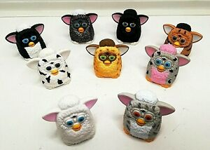VINTAGE FIND FURBY CHARACTERS X9