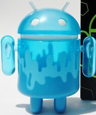 "Android 3"" Mini Clear Blue Iceberg Series 2 Andrew Bell Google Kidrobot Toy"