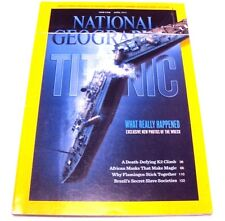 National Geographic April 2012 What Really Happened New Photos Of Wreck Titanic