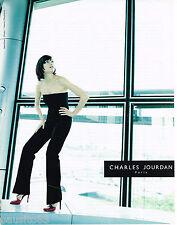 PUBLICITE ADVERTISING 065  1998  CHARLES JOURDAN  haute couture chaussures