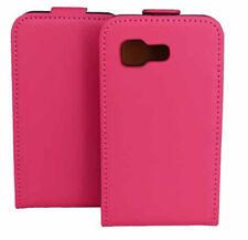 Boîtier premium flip sac en rose pour samsung s5220 star 3 Housse Cover Boîtier