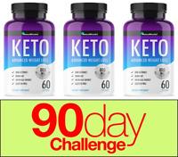 Keto Natura Miracles/QFL- Weight Loss Ketogenic Diet Supplement 180 Capsules