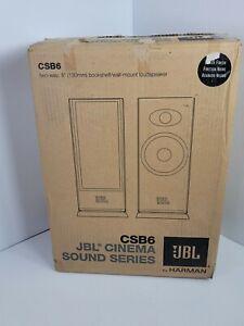 JBL Professional CSB6 Cinema Sound Series Bookshelf Speakers New in Box