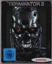 """TERMINATOR 2"" - Arnold Schwarzenegger - SciFi Action Kult - BLU RAY STEELBOOK"