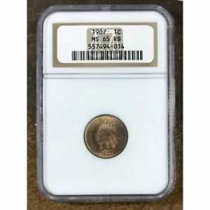 798 1907 Indian Head Cent CH-BU RB
